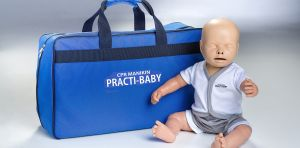 Practi-baby with bag
