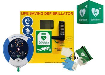 Heartsine 360P and Defib Store 1000 with keypad lock