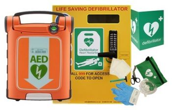 Powerheart G5 AED and Defib Store 3000 Package