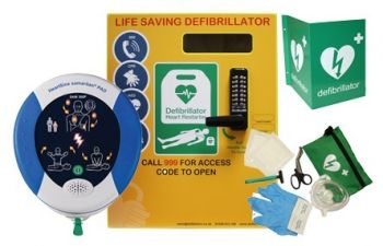 Heartsine 500P and Defib Store 2000 with keypad lock