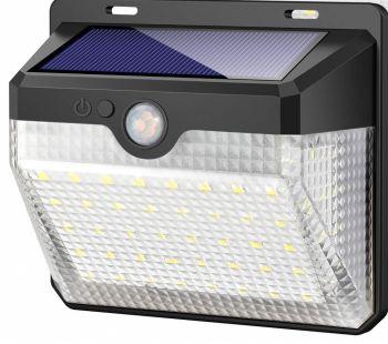 Solar Powered 270 Degree Motion Sensor Light with 3 settings.