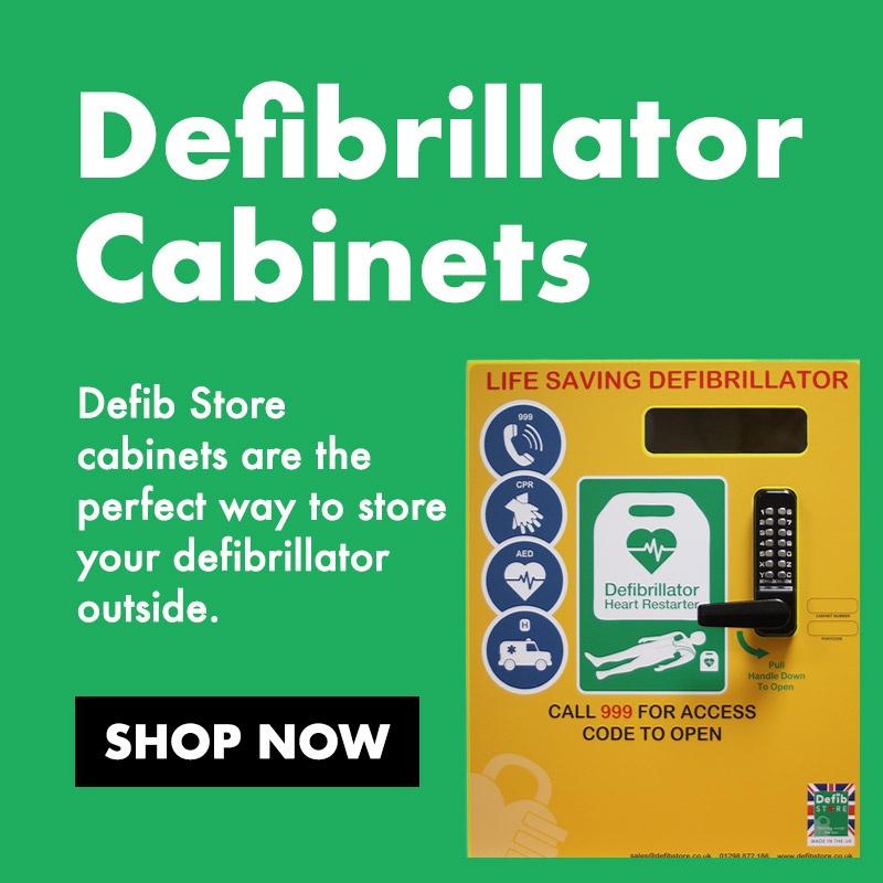 defibrillators cabinets